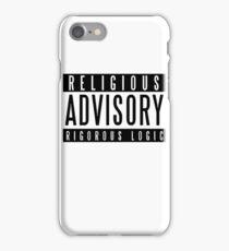 Religious Advisory iPhone Case/Skin