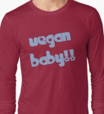 Vegan Baby in Blue T-Shirt