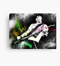 Machine Gun Blues Canvas Print