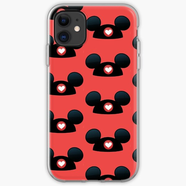 mickey ears iPhone Soft Case