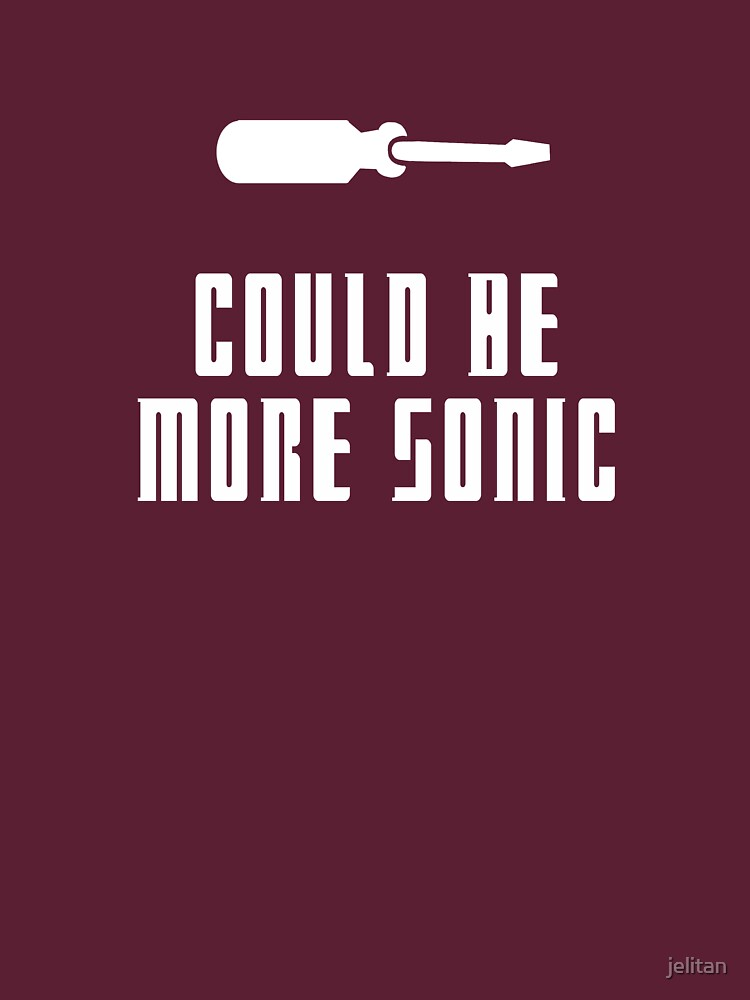 Could be more sonic - Sonic screwdriver 2 | Unisex T-Shirt