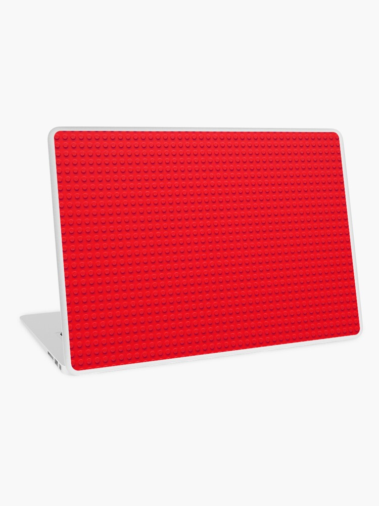 brick texture shirt roblox Building Block Brick Texture Red Laptop Skin By Graphix Redbubble