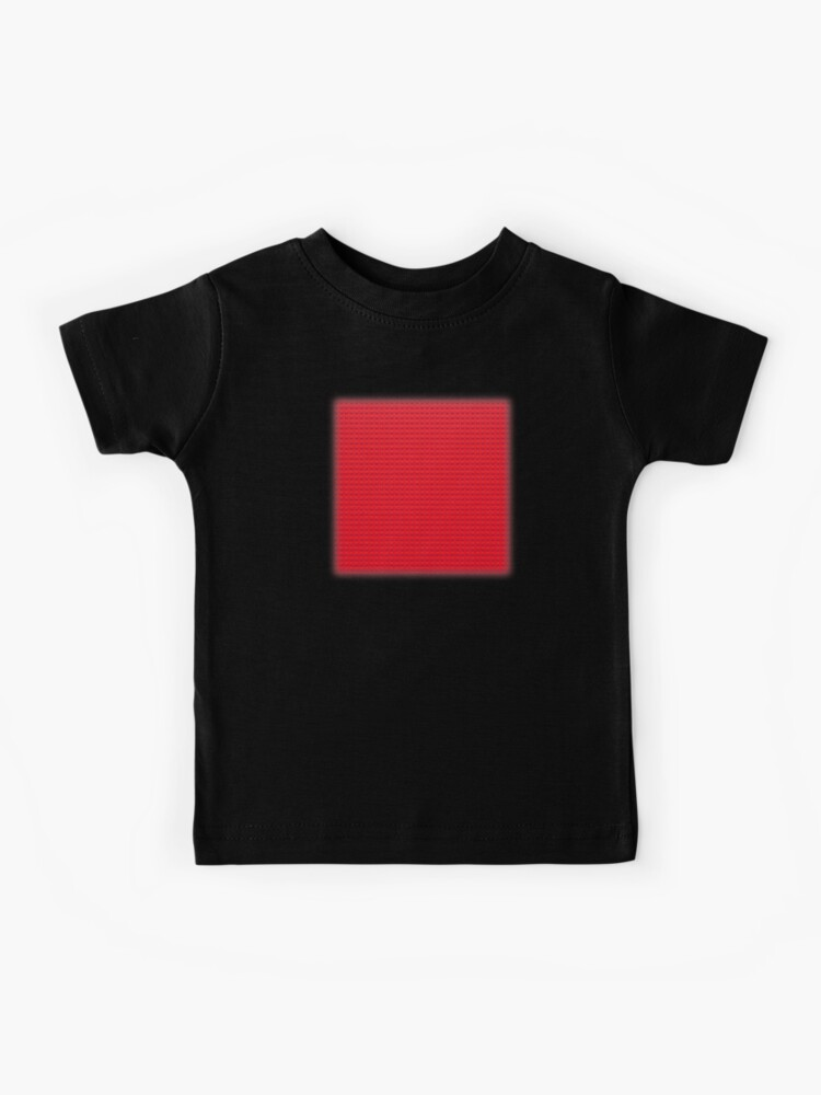 brick texture shirt roblox Building Block Brick Texture Red Kids T Shirt By Graphix Redbubble