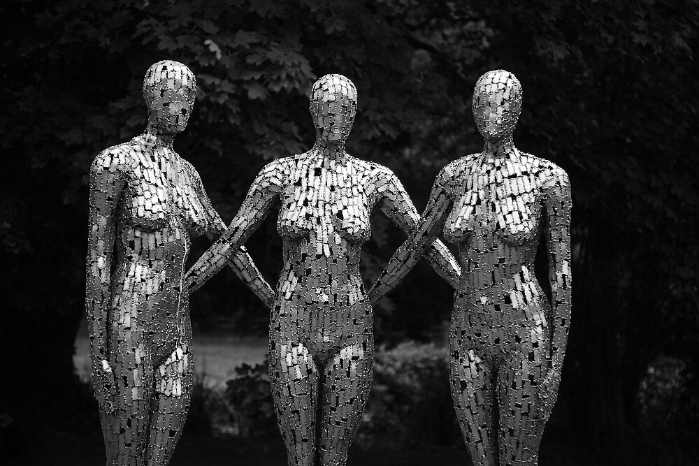 The Three Graces by Jeff  Wilson