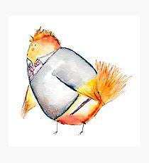 Wren Weasely- Harry Potter Nerdy Bird Photographic Print
