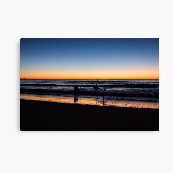 Dicky Beach sunrise Canvas Print