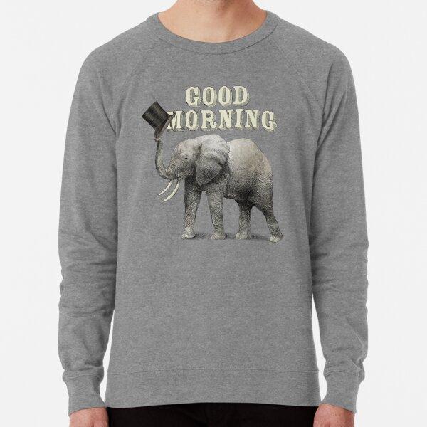 Good Morning Lightweight Sweatshirt