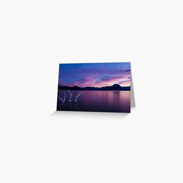 Lake Moogerah Greeting Card