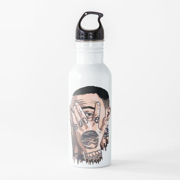 Mac miller face drawing Water Bottle