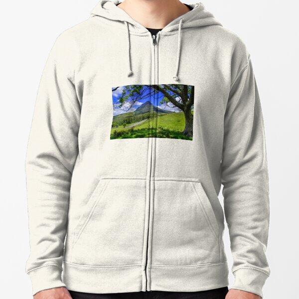 Mt Lindesay Zipped Hoodie