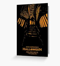 Halloween Stencil Greeting Card