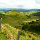 Auvergne: the volcanoes by bubblehex08