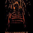 Halloween II Stencil by Michael Donnellan