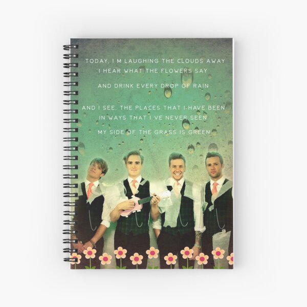 Love Is Easy - McFly Spiral Notebook