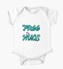 FREE HUGS TXT Kids Clothes