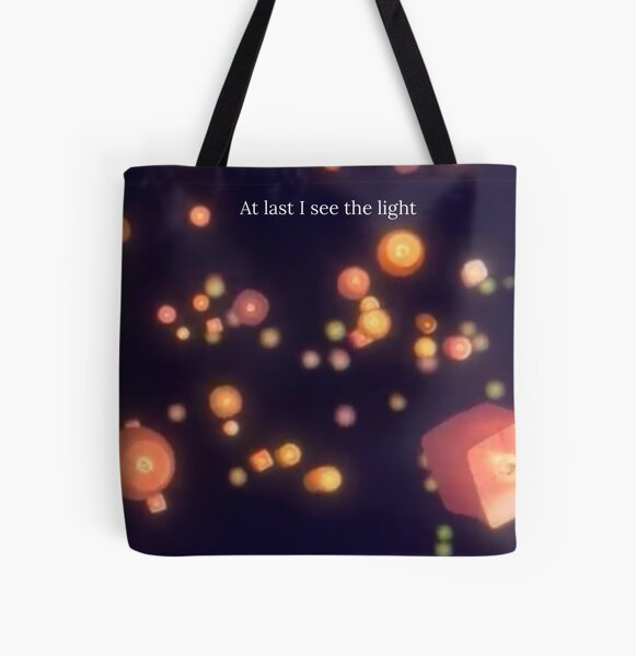 Lanterns In The Sky  All Over Print Tote Bag