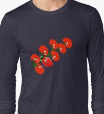 Stop looking at me, Please. Thanks! Long Sleeve T-Shirt