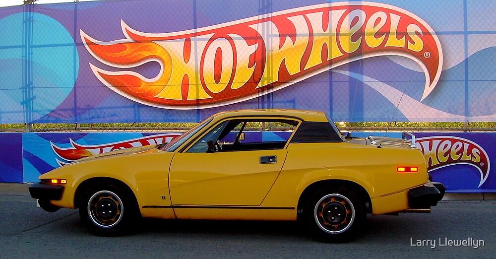 My Hot Wheels.......... by Larry Llewellyn