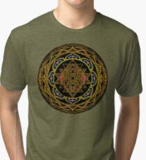 Ultimate Wealth Mandala Tri-blend T-Shirt