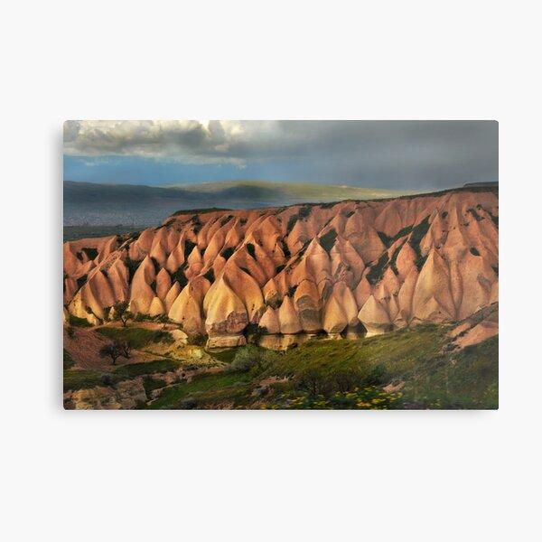The Hills of Cappadocia Metal Print