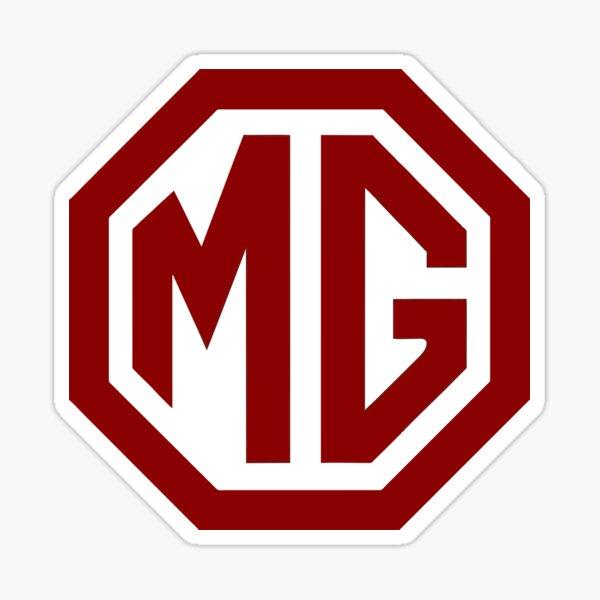 Best Seller - MG Car Logo Merchandise Sticker