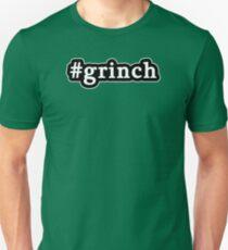 Grinch - Christmas - Hashtag - Black & White Unisex T-Shirt
