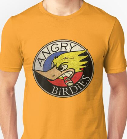Angry Birdies Band T T-Shirt