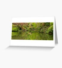 Reflections of a Garden Greeting Card