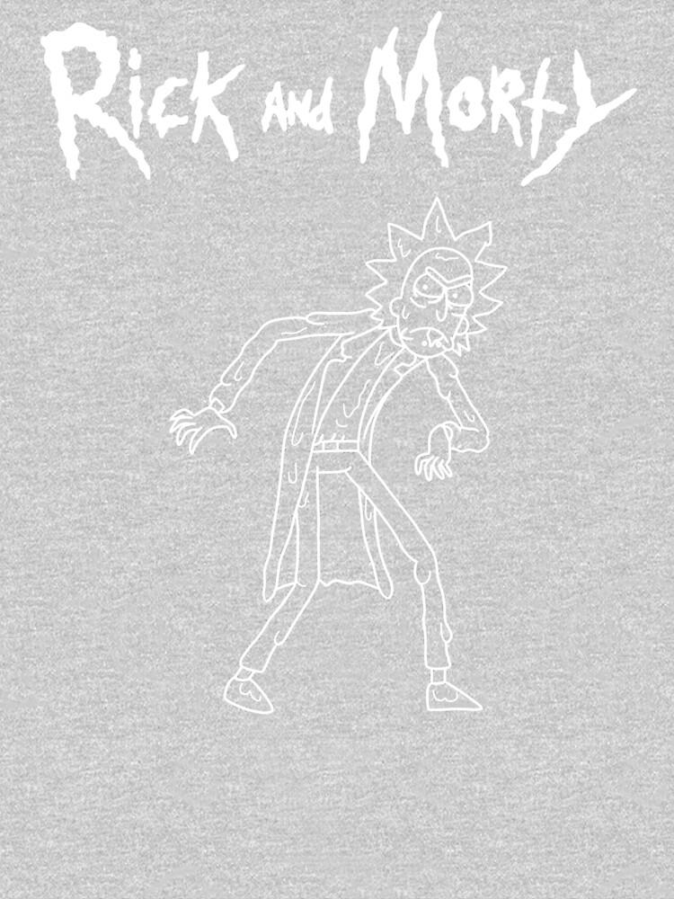 Toxic Rick | Rick and Morty character by newarts