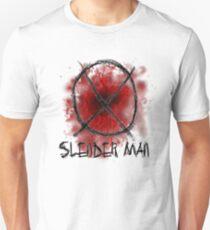 Slenderman blood spatter and symbol T-Shirt