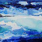 Sea abstract 2 by © Pauline Wherrell