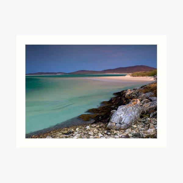 What a Beautiful Day, Isle of Harris Art Print