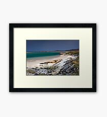 Outer Hebrides Sunshine Framed Print