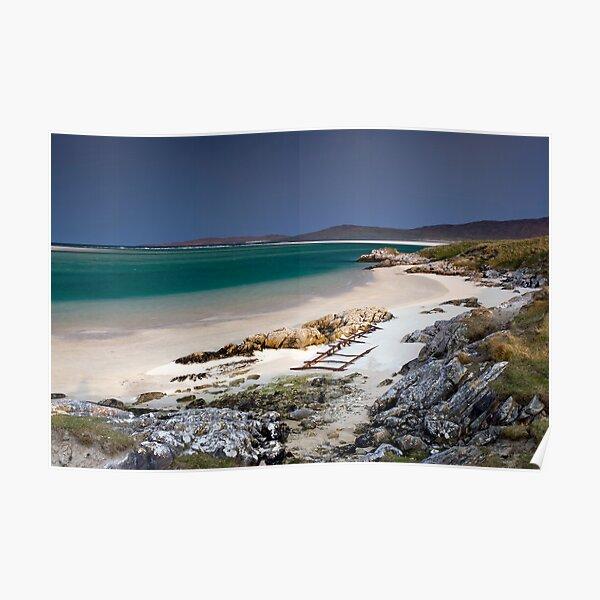 Outer Hebrides Sunshine Poster