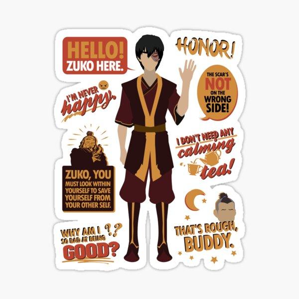 Hello, Zuko Here! Sticker