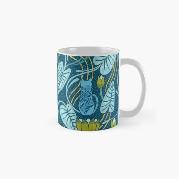 Art nouveau kitty cats. Classic Mug