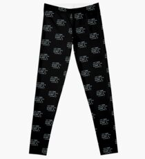 Do you want to play a game? Leggings