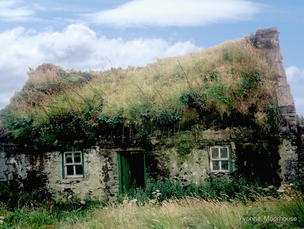 """Irish Cottage - Bolus Head, Co. Kerry"" by Yvonne North ..."