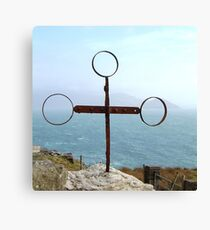 Iron Cross - Cill Railiag, Co Kerry, Eire Canvas Print