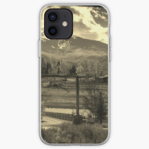 Living on a ranch ain't so bad iPhone Soft Case