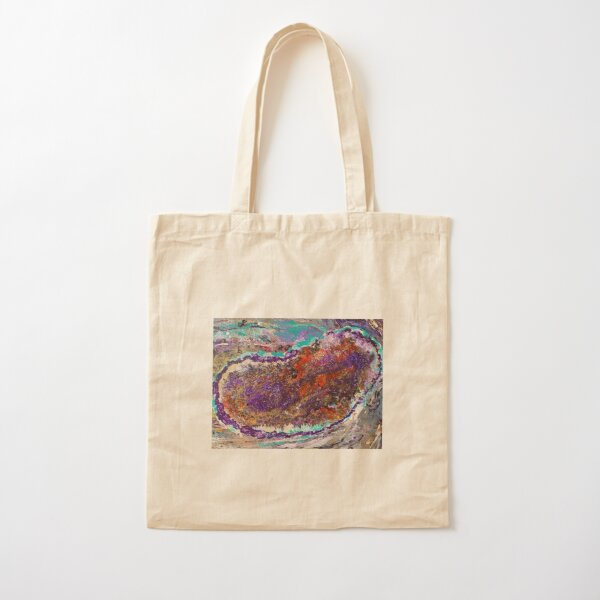 The Geode  Cotton Tote Bag