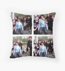 Yeah, we're a goofy bunch! ;) Throw Pillow
