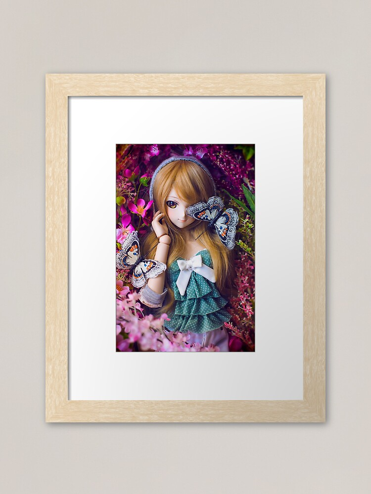 Alternate view of Coco's Valentine Framed Art Print