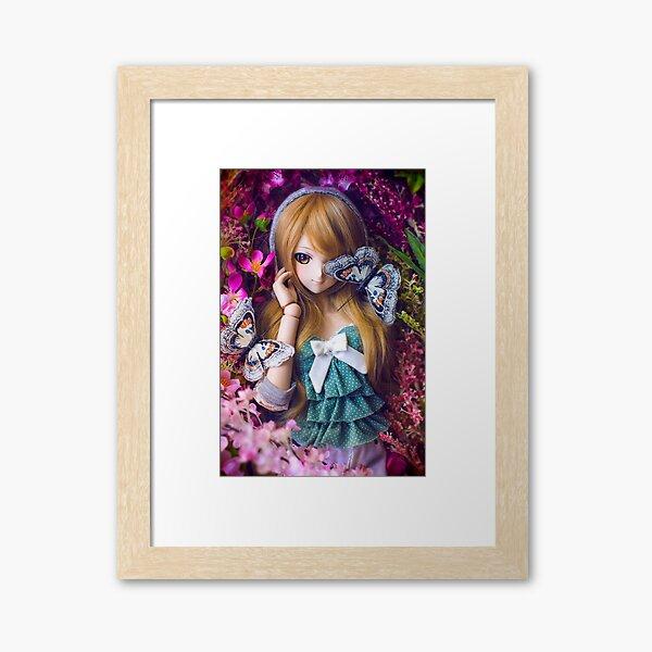 Coco's Valentine Framed Art Print