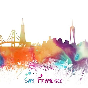 San Francisco City Skyline  by JBJart