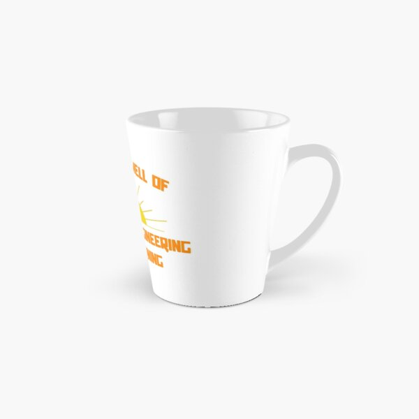 I Love The Smell of Mechanical Engineering in the Morning Tall Mug