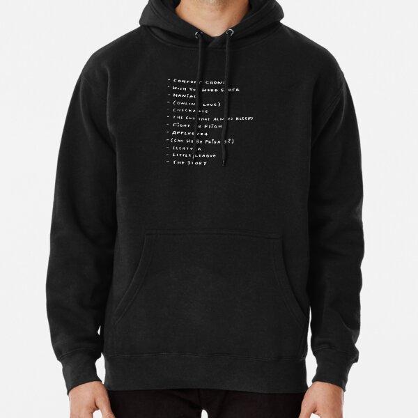 I Love Heart Forest Heath Black Kids Sweatshirt
