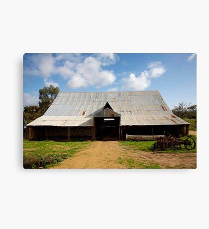 historyscapes #137, big barn Canvas Print