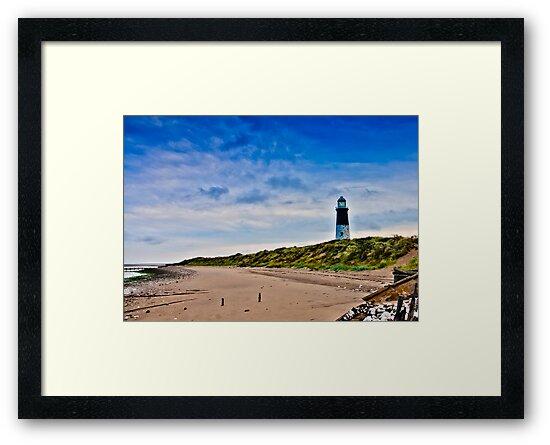 Spurn Point Lighthouse by Trevor Kersley