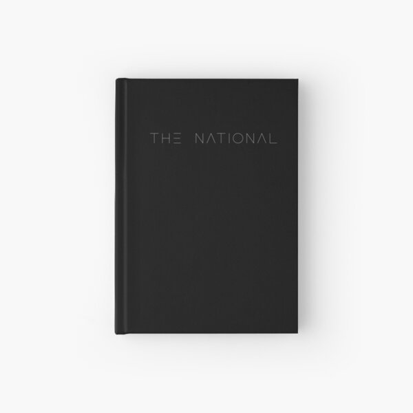 The National Band Logo Lettering Hardcover Journal